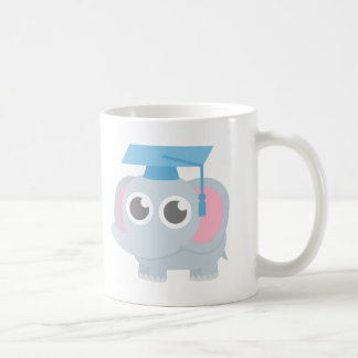 Cute Elephant Kids Kindergarten Graduation Coffee Mug