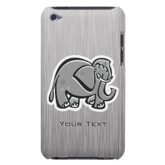 Cute Elephant; Metal-look Case-Mate iPod Touch Case