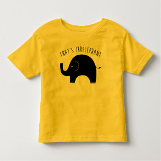 Cute Elephant Toddler's T-Shirt