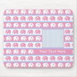 Cute Elephants Photo Mousepads
