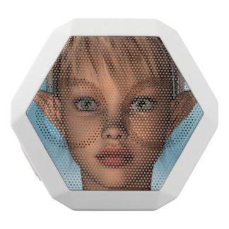 Cute Elf White Boombot Rex Bluetooth Speaker