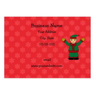 Cute elf business cards