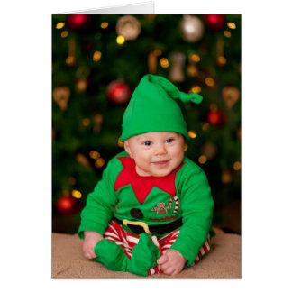 Cute Elf Greeting Card