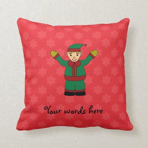 Cute elf pillow