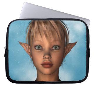 Cute Elf Laptop Sleeve