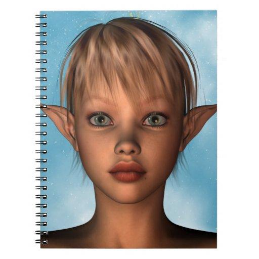 Cute Elf Notebook
