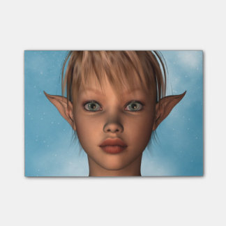 Cute Elf Sticky Notes