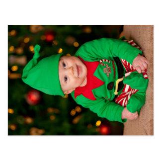 Cute Elf Postcard