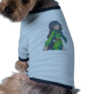 cute elf princess dog t-shirt
