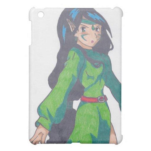 cute elf princess iPad mini covers