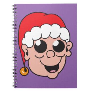 Cute Elf Spiral Note Book