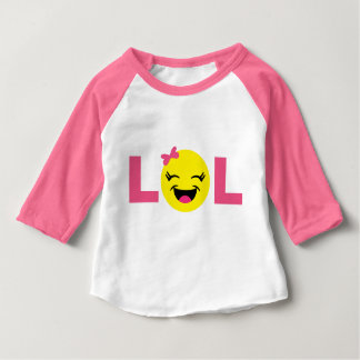 Cute Emoji LOL Baby T-Shirt