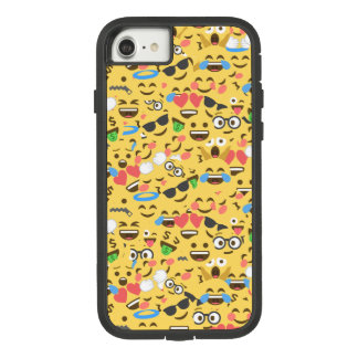cute emoji love hears kiss smile laugh pattern Case-Mate tough extreme iPhone 8/7 case