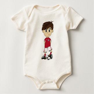 Cute England Soccer Boy Creeper