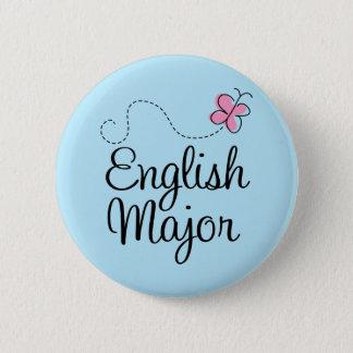 Cute English Major Gift 6 Cm Round Badge