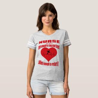 Cute Enough Christian Nurse T-Shirt