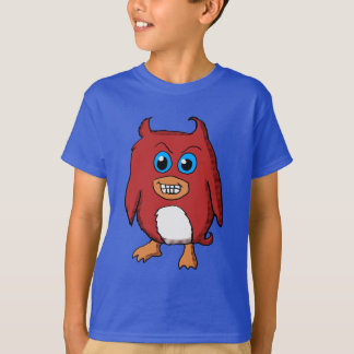 Cute Evil Red Penguin Shirt