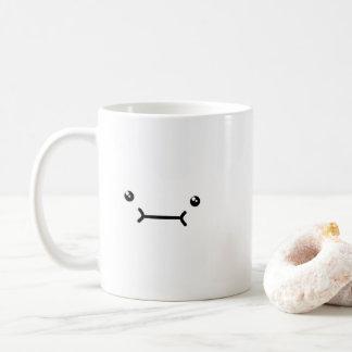 Cute Face 11 oz Mug (White)