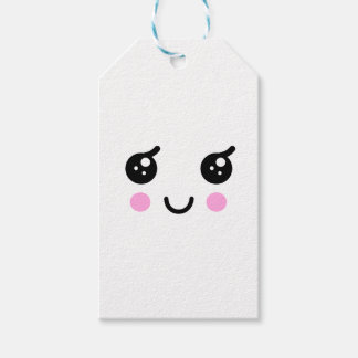 Cute Face Gift Tags