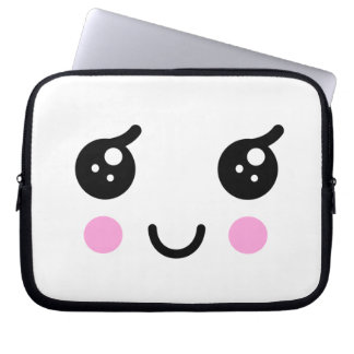 Cute Face Laptop Sleeve