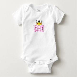 cute face of toad girl baby onesie