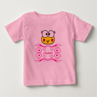 cute face of toad girl baby T-Shirt