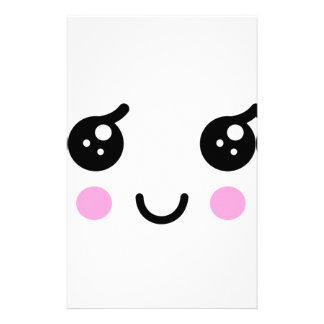 Cute Face Stationery