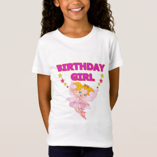 Cute fairy birthday t-shirt for girls
