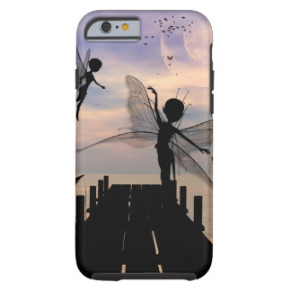 Cute fairy dancing on a jetty tough iPhone 6 case