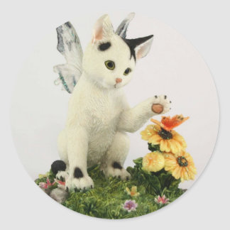 Cute Fairy Kitten sticker