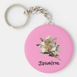 Cute Fairy - Personalized Name Gift Key Ring