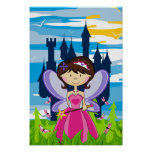 Cute Fairy Princess Poster
