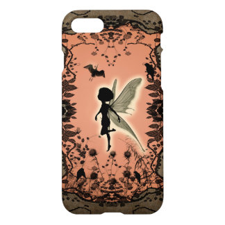 Cute fairy silhouette with glowing shine, iPhone 7 case