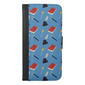 Cute Fairy Tale Pattern iPhone 6/6s Plus Wallet Case