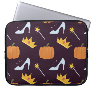 Cute Fairy Tale Pattern Laptop Sleeve
