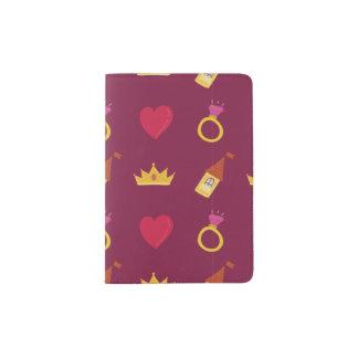 Cute Fairy Tale Pattern Passport Holder