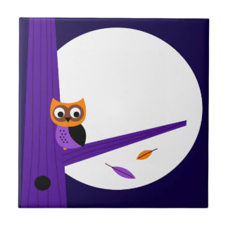 Cute fairytale Owl : Zazzle products are in shop Small Square Tile