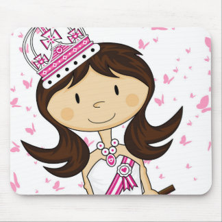 Cute Fairytale Princess Mousepad