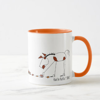 Cute Fall Season Horse Mug