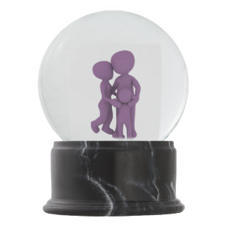 Cute Family Together Snow Globe