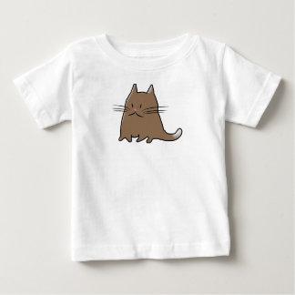 Cute Fat Little Cat Baby T-Shirt