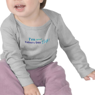Cute Fathers Day Gift - Blue Shirt