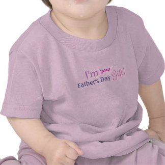 Cute Fathers Day Gift - Girls Pink Shirt