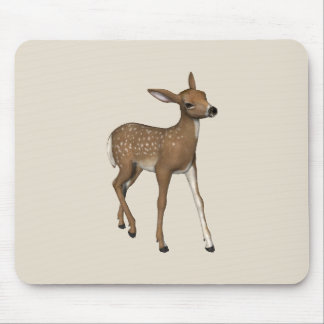 Cute Fawn Mouse Pad