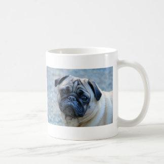 Cute Fawn Pug Coffee Mug