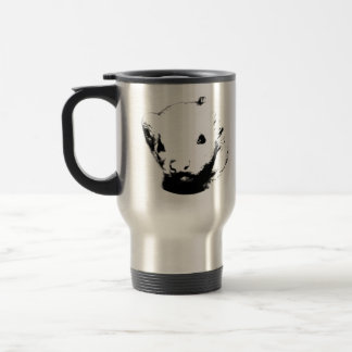 Cute Ferret Picture Travel Mug