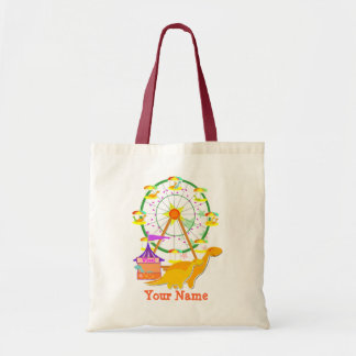 Cute Ferris Wheel Dinosaurs Gift Bag