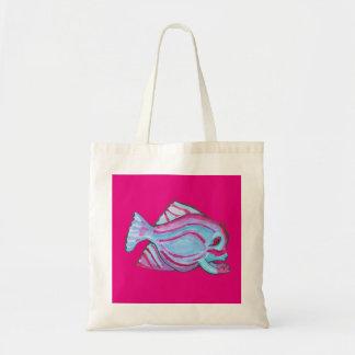 Cute fish creature Tote Bag