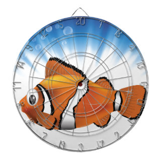 Cute fish dartboard
