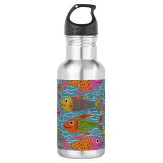 Cute Fishies Water Bottle 532 Ml Water Bottle